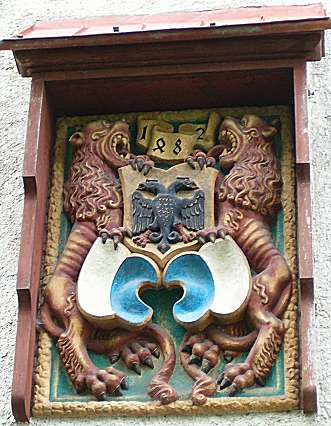 Schirmerturm: coat-of-arms