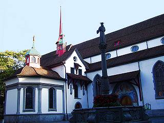 Lucerne, Franciscan Church